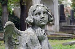 祈祷的天使 免版税库存图片