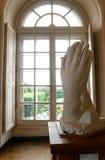 祈祷的手雕塑罗丹 库存照片