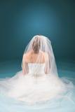 祈祷的新娘 免版税库存照片