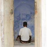 祈祷的穆斯林 图库摄影