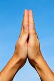祈祷 图库摄影
