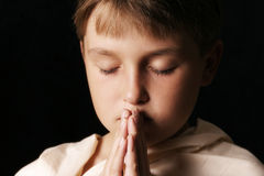 祈祷 免版税库存图片