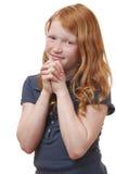 祈祷 库存图片