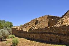 祖先Puebloan archaeoastronomical建筑学 免版税库存图片