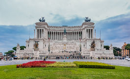 祖国的法坛在罗马意大利 免版税图库摄影