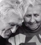祖母和祖父 库存照片