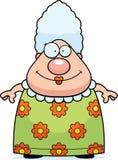 祖母微笑 皇族释放例证