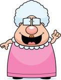 祖母想法 免版税库存照片