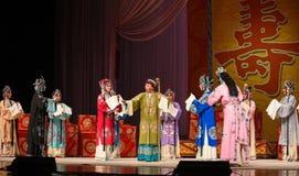 """祖母的生日聚会北京Opera""""杨Family†的妇女将军 免版税库存照片"""