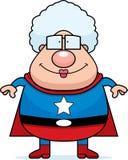 祖母超级英雄 皇族释放例证