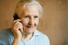 祖母 免版税库存图片
