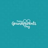 祖父母的天 库存照片