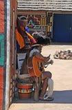 祖鲁族人和ndebele人,南非 免版税库存照片