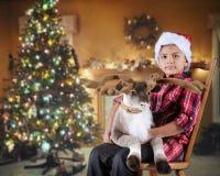 祝愿圣诞节 免版税图库摄影