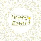 祝愿您复活节快乐 免版税库存照片