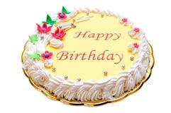 祝生日快乐蛋糕 库存照片
