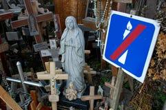 祝福圣母玛丽亚 免版税库存图片