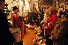祝福复活节圣水 免版税库存图片