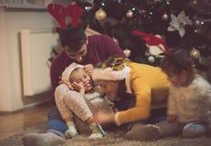 祝福是以家庭 库存照片