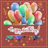 祝贺生日快乐2 图库摄影