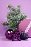 祝贺与圣诞节和新年 库存图片