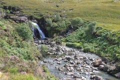 神仙合并斯凯岛苏格兰小岛  免版税库存照片