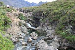 神仙合并斯凯岛苏格兰小岛  库存照片