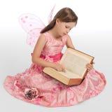 神仙的书一点魔术读 免版税库存照片