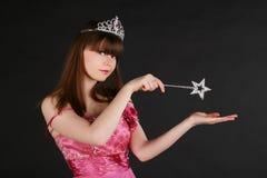 神仙的女孩 免版税库存照片