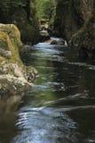 神仙的幽谷 库存照片
