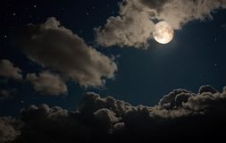 神仙的晚上 免版税库存图片