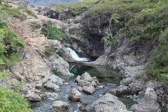 神仙的水池和瀑布 免版税库存图片