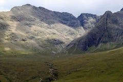 神仙的水池,斯凯岛苏格兰小岛  库存图片