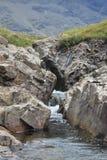 神仙的水池,斯凯岛苏格兰小岛  免版税库存照片