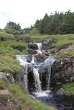 神仙的水池,斯凯岛苏格兰小岛  库存照片