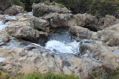 神仙的水池,斯凯岛,苏格兰小岛  图库摄影