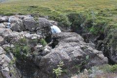 神仙的水池,斯凯岛,苏格兰小岛  库存图片
