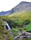神仙的水池,斯凯岛,苏格兰小岛  免版税库存照片