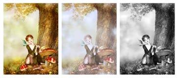 神仙的甜点 免版税图库摄影