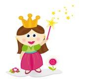 神仙的矮小的公主 库存照片