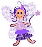 神仙的紫色 向量例证
