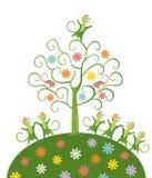 神仙的结构树 免版税库存照片