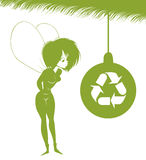 神仙的绿色 免版税图库摄影