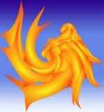 神仙的美人鱼传说 免版税库存照片