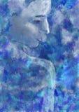 神仙-数字式绘画 库存照片