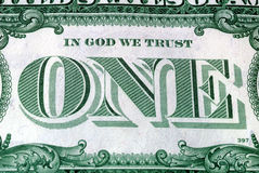 神信任 免版税库存照片
