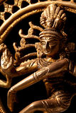 神印度印第安shiva雕象 免版税库存图片