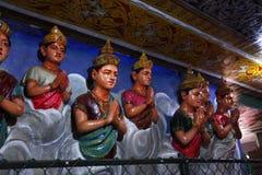 神印度雕象 免版税库存照片