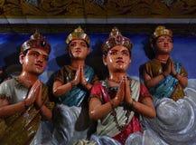 神印度雕象 库存图片