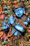 神印度krishna 免版税图库摄影